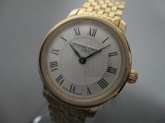 フレデリックコンスタント FREDERIQUE CONSTANT 腕時計 美品 FC-200XS5/6 レディース シルバー【中古】