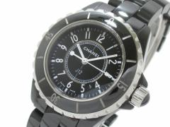 シャネル CHANEL 腕時計 J12 H0682 レディース セラミック/33mm 黒【中古】