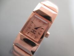 ズッカ ZUCCA 腕時計 1N00-0PK0 レディース CABANEdeZUCCA ピンクゴールド【中古】