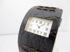ズッカ ZUCCA 腕時計 美品 7N00-0AX0/AWGT010 レディース 型押し革ベルト/CABANE de ZUCCA シルバー【中古】