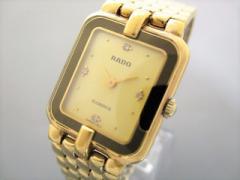 ラドー RADO 腕時計 フローレンス 153.3652.2 レディース 4Pダイヤ ゴールド【中古】