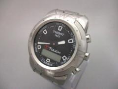 ティソ TISSOT 腕時計 T TOUCH Z251/351-1 メンズ 黒【中古】