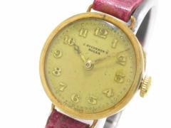 ロレックス ROLEX 腕時計 - - レディース ベージュ【中古】