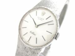 ロレックス ROLEX 腕時計 チェリーニ - レディース 社外ブレス シルバー【中古】
