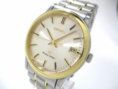 グランドセイコー GrandSeiko 腕時計 8J56-7000 メンズ SS×K18YG シルバー【中古】