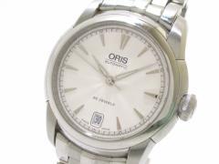 オリス ORIS 腕時計 7552 メンズ 裏スケ 白【中古】