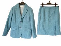 スキャパ Scapa スカートスーツ 40 レディース 美品 ブルー【中古】