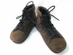 フットプリンツ Footprints シューズ 37240 レディース ダークベージュ ハイカット/BIRKEN STOCK スエード【中古】