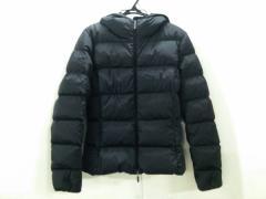 モンクレール MONCLER ダウンジャケット サイズ1 S レディース 黒 冬物【中古】