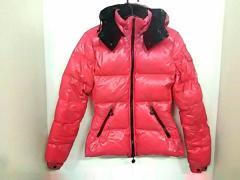 モンクレール MONCLER ダウンジャケット サイズ0 XS レディース 美品 バディア ピンク 冬物【中古】