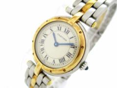 カルティエ Cartier 腕時計 ヴァンドーム - レディース SS×K18YG/1ロウ アイボリー【中古】
