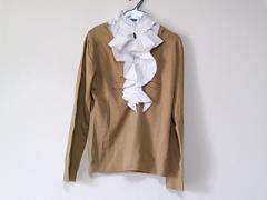 ナラカミーチェ NARACAMICIE 長袖セーター サイズ2 M レディース ベージュ×アイボリー 装飾小物着脱可【中古】