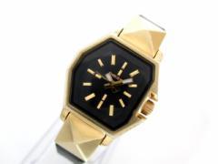 ディーゼル DIESEL 腕時計 DZ-5226 レディース 革ベルト 黒【中古】