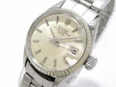 ロレックス ROLEX 腕時計 オイスターパーペチュアルデイト 6517 レディース シルバー【中古】