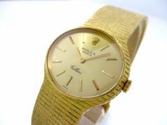 ロレックス ROLEX 腕時計 チェリーニ 3981 レディース 金無垢 ゴールド【中古】