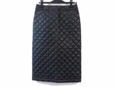 トリココムデギャルソン tricot COMMEdesGARCONS スカート サイズS レディース 新品同様 黒 キルティング【中古】