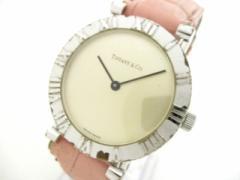ティファニー TIFFANY&Co. 腕時計 アトラスラウンド M0640 レディース 社外ベルト/925 ピンクゴールド【中古】