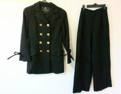 クレイサス CLATHAS レディースパンツスーツ サイズ38 M レディース 美品 黒【中古】