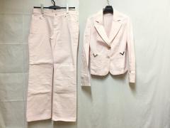 バレンチノ R.E.D VALENTINO レディースパンツスーツ サイズ42 L レディース ピンク【中古】
