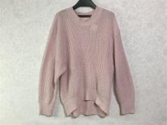 スナイデル snidel 長袖セーター サイズF レディース ピンク【中古】