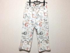 グリーンクラブ GREEN CLUBS パンツ サイズ11 M レディース 白×オレンジ×黒【中古】
