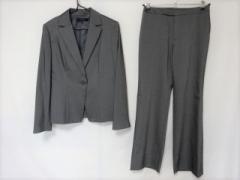ミッシェルクラン MICHELKLEIN レディースパンツスーツ サイズ38 M レディース 美品 グレー【中古】