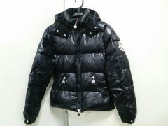 モンクレール MONCLER ダウンジャケット サイズ0 XS レディース 黒 冬物【中古】