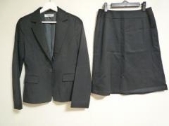 ナチュラルビューティー ベーシック NATURAL BEAUTY BASIC スカートスーツ サイズL レディース 美品 黒【中古】
