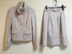 ナチュラルビューティー ベーシック NATURAL BEAUTY BASIC スカートスーツ サイズ38 M レディース 美品 ベージュ【中古】