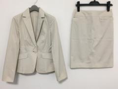 ノーリーズ NOLLEYS スカートスーツ サイズ38 M レディース 美品 白 Sophi【中古】