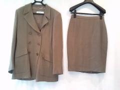 マックスマーラ Max Mara スカートスーツ サイズ42 M レディース 美品 ブラウン【中古】