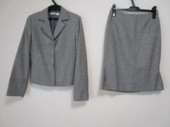 ニジュウサンク 23区 スカートスーツ サイズ38 M レディース グレー【中古】