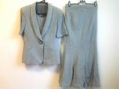 ギンザマギー MAGGY スカートスーツ サイズ9 M レディース 白×黒【中古】
