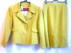 クリスチャンラクロワ Christian Lacroix スカートスーツ サイズ36 S レディース 美品 イエロー【中古】