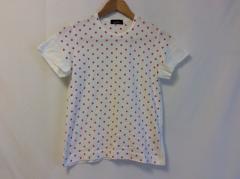 トリココムデギャルソン tricot COMMEdesGARCONS 半袖Tシャツ レディース 白×ピンク ドット柄【中古】