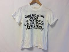 コムデギャルソン COMMEdesGARCONS 半袖Tシャツ サイズs S レディース 白×黒【中古】