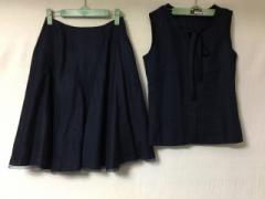 ボディドレッシングデラックス BODY DRESSING Deluxe スカートセットアップ サイズ36 S レディース 美品 ネイビー【中古】