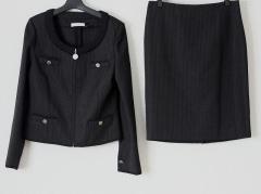 ロベルタ スカルパ ROBERTA SCARPA スカートスーツ サイズ44 L レディース 黒【中古】