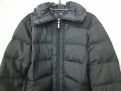モンクレール MONCLER ダウンコート サイズ2 M レディース 黒 冬物【中古】