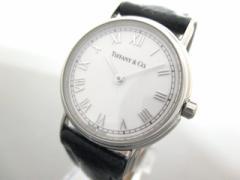ティファニー TIFFANY&Co. 腕時計 L.251 レディース 革ベルト アイボリー【中古】