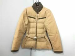 モンクレール MONCLER ダウンコート サイズ0 XS レディース ブラウン×ダークブラウン 冬物【中古】