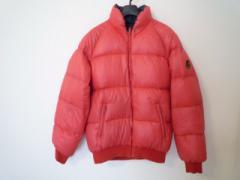 モンクレール MONCLER ダウンジャケット サイズ90-4 レディース レッド×ネイビー リバーシブル/冬物【中古】