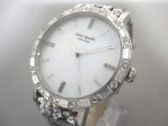 ケイト Kate spade 腕時計 美品 KS1YRU0679 レディース グリッターベルト/シェル文字盤 シェルホワイト【中古】