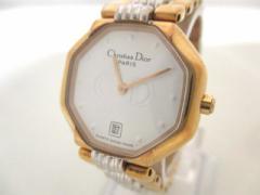 ディオール ChristianDior 腕時計 48 133 レディース 白【中古】