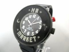 HRM/ハリラン HOLLYWOOD RANCH MARKET 腕時計 VG92-0080 ボーイズ 黒【中古】