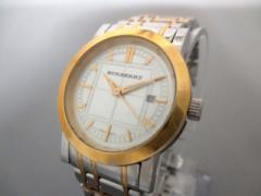 バーバリー Burberry 腕時計 BU1359 レディース シルバー【中古】