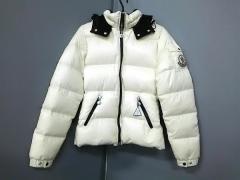 モンクレール MONCLER ダウンジャケット サイズ1 S レディース 美品 バディア 45308 アイボリー 冬物【中古】
