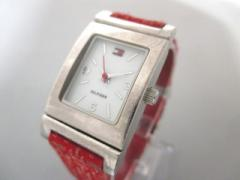 トミーヒルフィガー TOMMY HILFIGER 腕時計 T00187 レディース 白【中古】