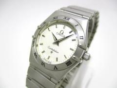 オメガ OMEGA 腕時計 美品 コンステレーション 1572.30 レディース 白【中古】