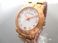 マークジェイコブス MARC BY MARC JACOBS 腕時計 MBM3078 レディース ラインストーン 白【中古】